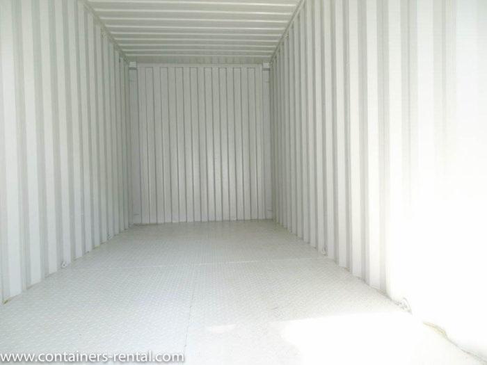 Lodní kontejner vel. 20'HC – železná podlaha