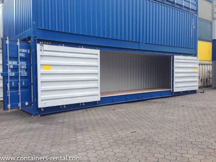 Lodní kontejner vel. 40'HC Side Door
