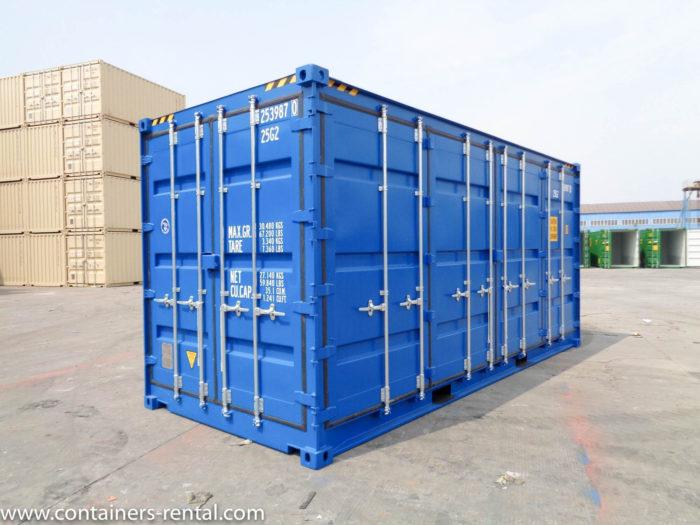Lodní kontejner vel. 20'HC Side Door